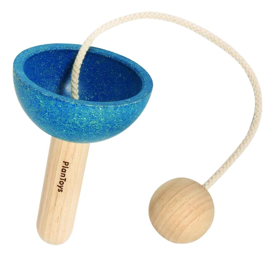 Купить Деревянная игрушка для малышей PlanToys Бильбоке, Развивающие игрушки