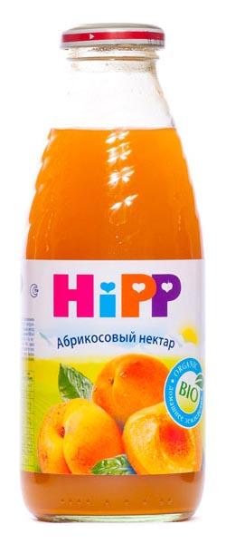 Сок Hipp Абрикосовый нектар с 4