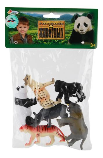 Купить Игровой набор Животные Азии, 6 штук Играем вместе, Играем Вместе, Фигурки животных