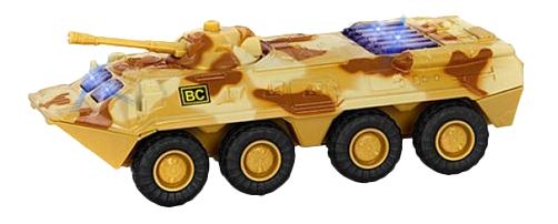 Купить Металлическая машина Автопарк - БТР-80 Play Smart А74806, PLAYSMART, Военный транспорт
