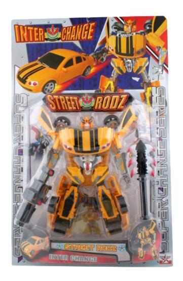Купить Робот-трансформер автобот Gratwest Л23777, Интерактивные мягкие игрушки