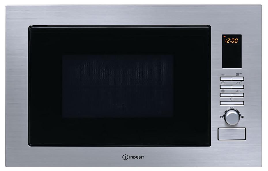 Встраиваемая микроволновая печь с грилем Indesit MWI 222.2 X фото