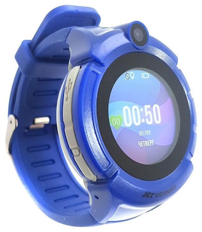 Детские смарт часы Jet Kid Sport Blue/Blue