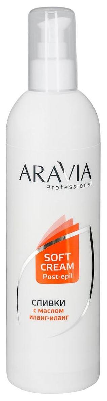 Сливки для восстановления рН кожи с маслом иланг-иланг Aravia Professional 300 мл