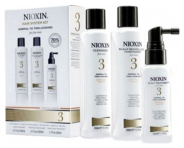 Подарочный набор Nioxin System 3 150 мл+150 мл+50