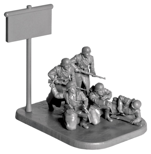 Купить Немецкая пехота в зимней форме 1941-1945, Модели для сборки Zvezda Немецкая Пехота в зимней форме 1941-1945,