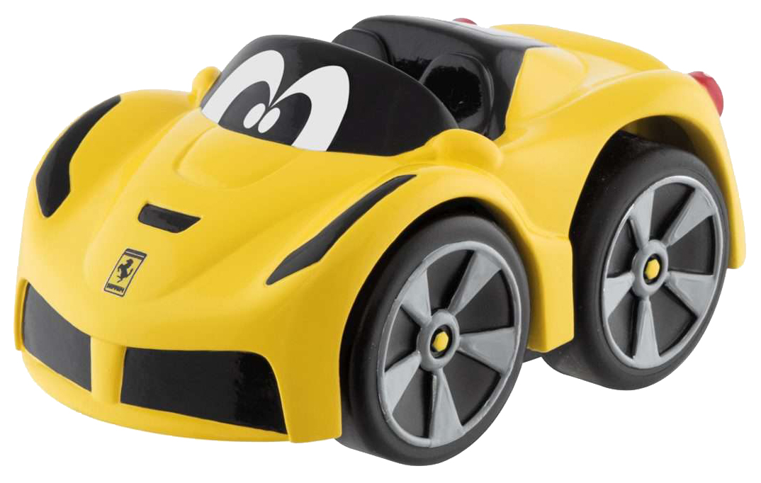 Купить Машинка пластиковая Chicco Ferrari LaFerrari желтая, Игрушечные машинки