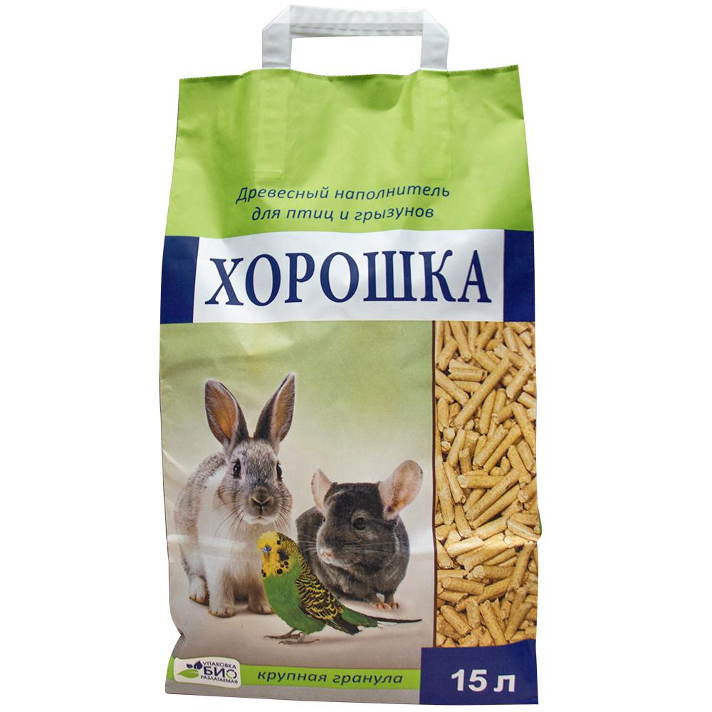 Наполнитель для грызунов ХОРОШКА, 15л