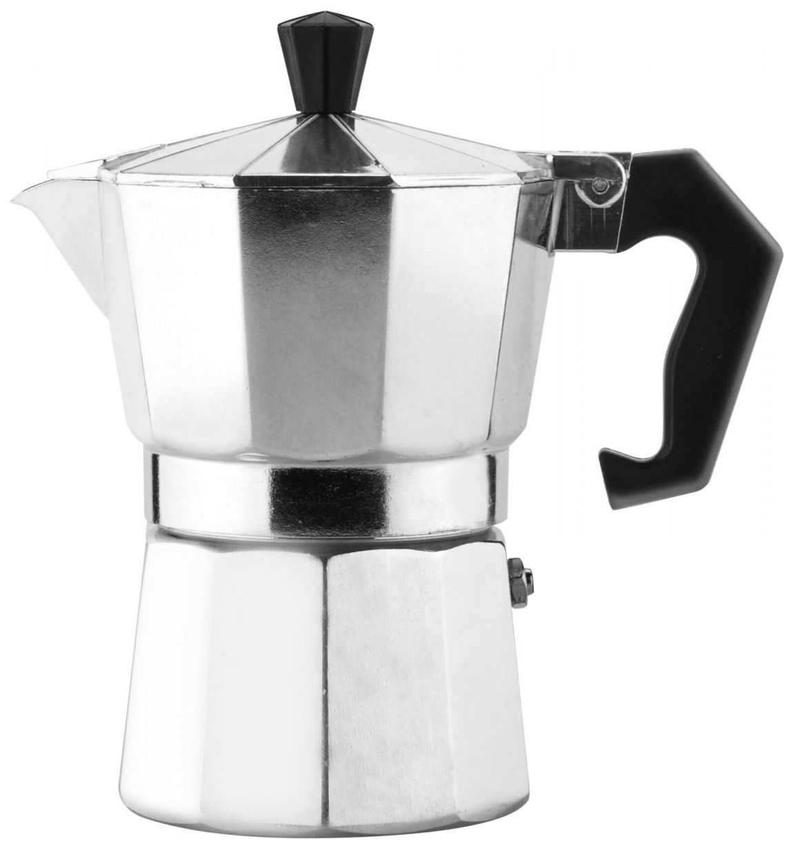 Кофеварка гейзерная Mallony Grande, 120мл, 3 чашки, алюминий, 4262