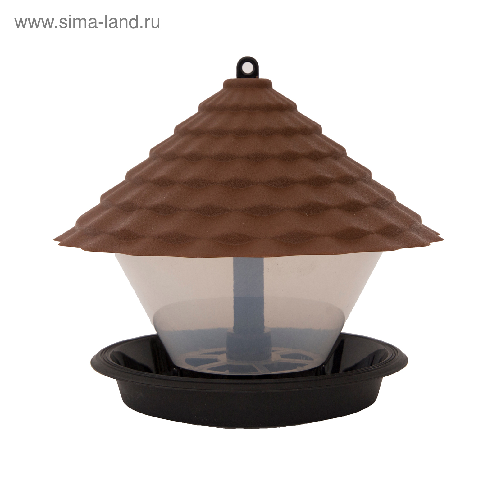 Кормушка для птиц Ornito, коричневая