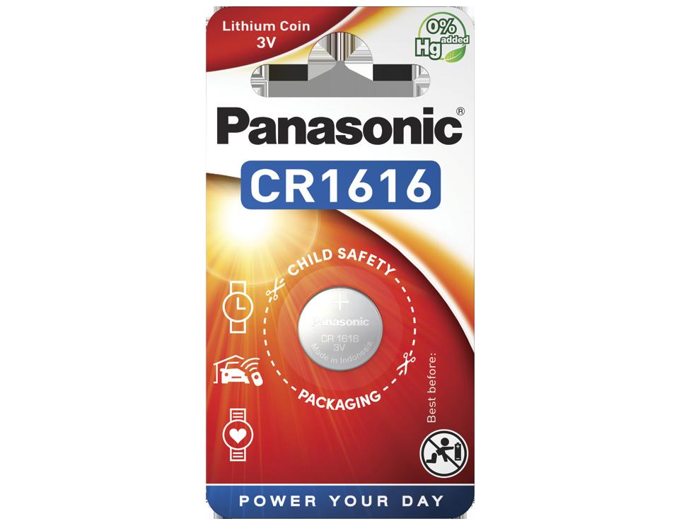 Батарейка Panasonic CR 1616EL/1B 1 шт