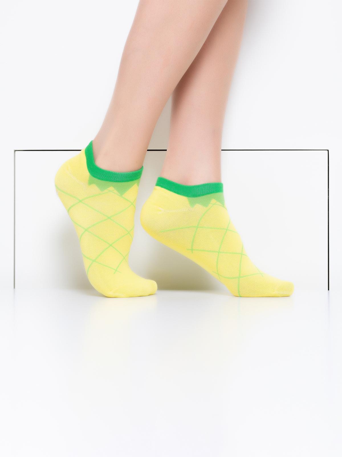 Носки женские Hobby Line желтые 36-40