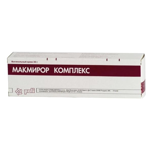 Купить Макмирор комплекс крем вагинальный 30 г 30 г, Poli Industria Chimica