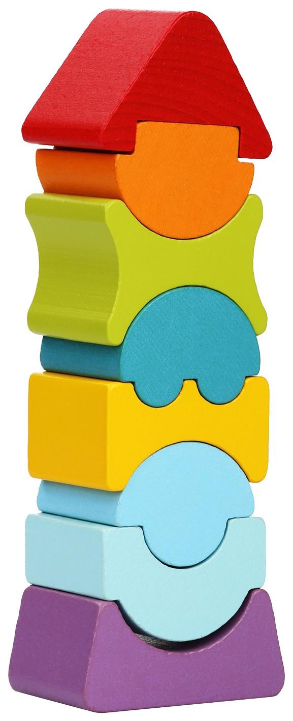 Развивающая игрушка Cubika Пирамидка LD 8