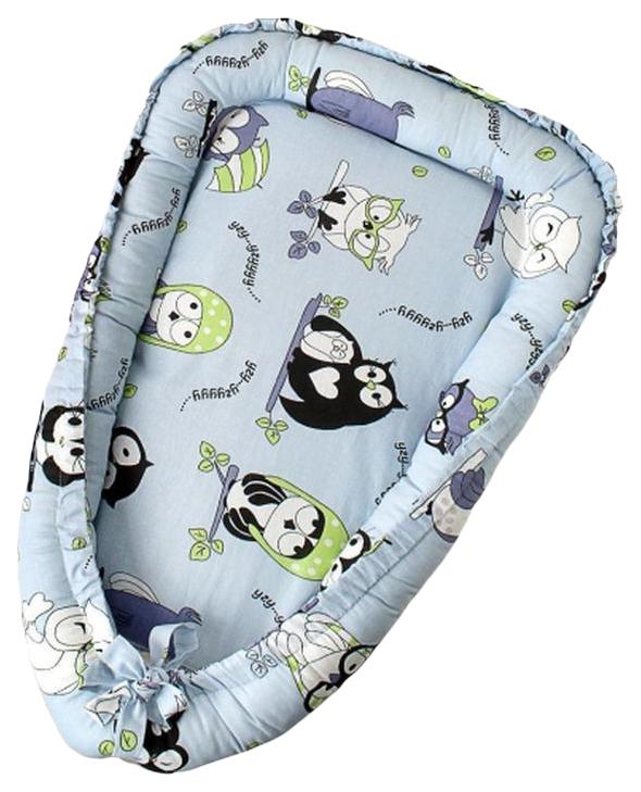 Купить Подушка-Позиционер WB для сна AmaroBaby кокон-гнездышко, LITTLE BABY Совы, Детские подушки