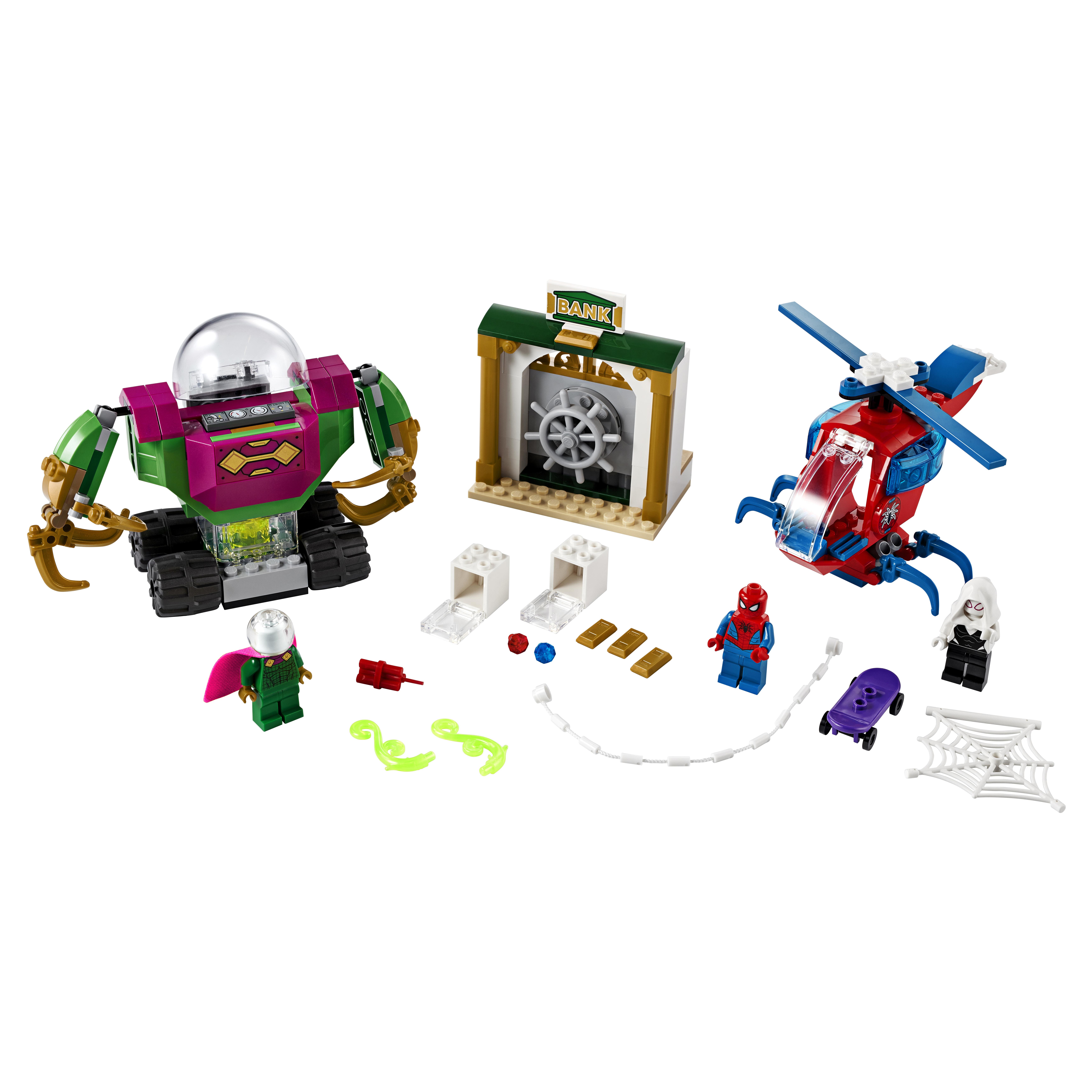 Конструктор LEGO Marvel Super Heroes 76149 Угрозы Мистерио