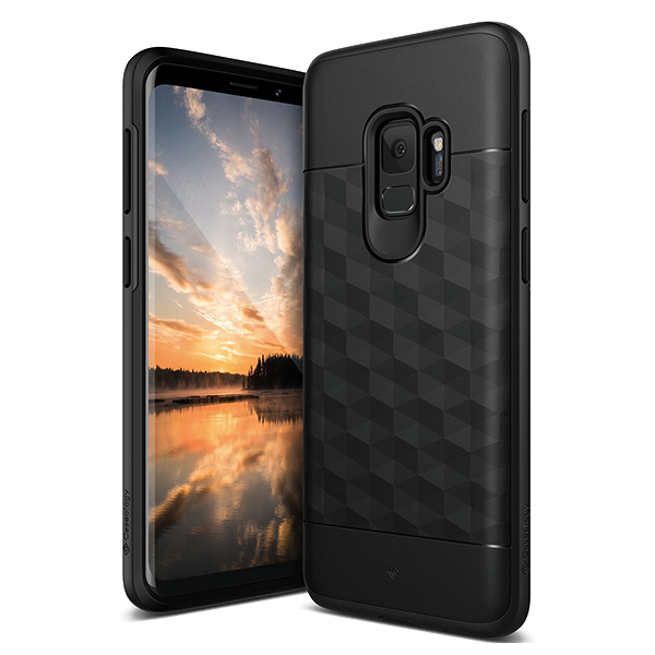 Чехол Caseology Parallax для Galaxy S9 Black фото
