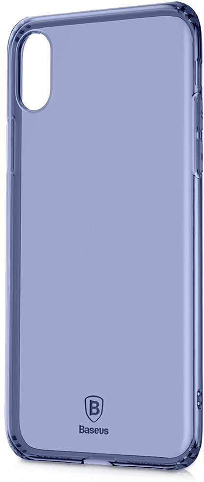 Чехол Baseus Simple Series Anti-Fall для Apple Apple iPhone X Blue (ARAPIPHX-C03)