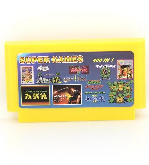 Картридж 8 Bit Simba's Junior 400