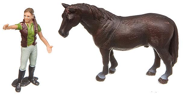 Купить Игровой набор Yako Toys Фигурка С Животным Серия Мир Вокруг Нас Арт.M7593-8.,