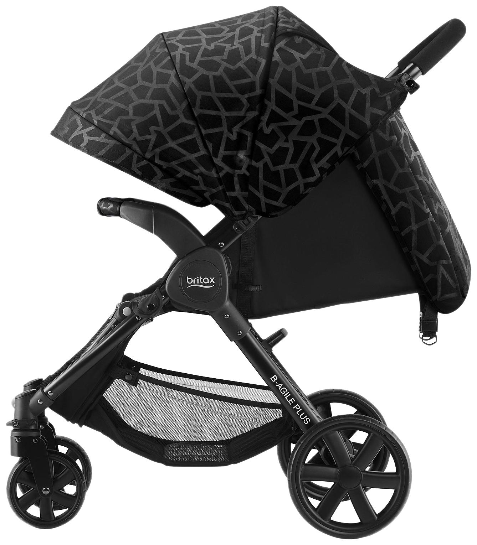Купить Капор для коляски B-Agile 4 Plus и B-Motion 4 Plus, Geometric Web, Britax Romer, Капюшоны на коляску