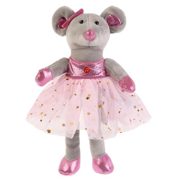 Купить Игрушка мягкая Мышка балерина , 14 см, Мульти-Пульти, Мягкие игрушки животные