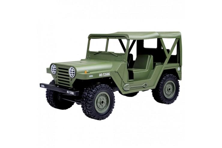 Радиоуправляемый Jeep 1:14 US M151 4WD 1:14 2.4G SUBOTECH BG1522