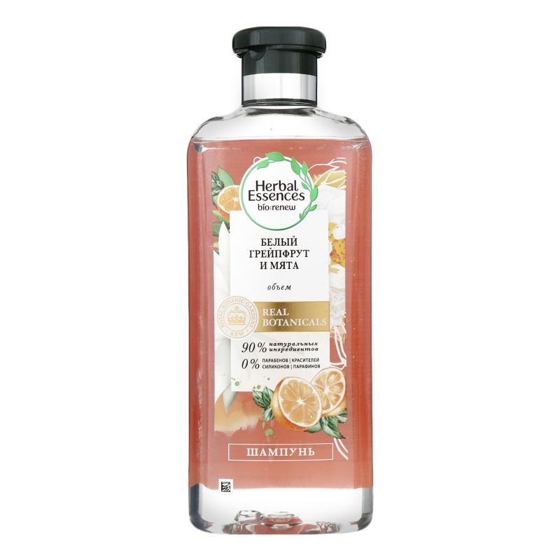 Шампунь Herbal Essences Белый грейпфрут и мята 400мл