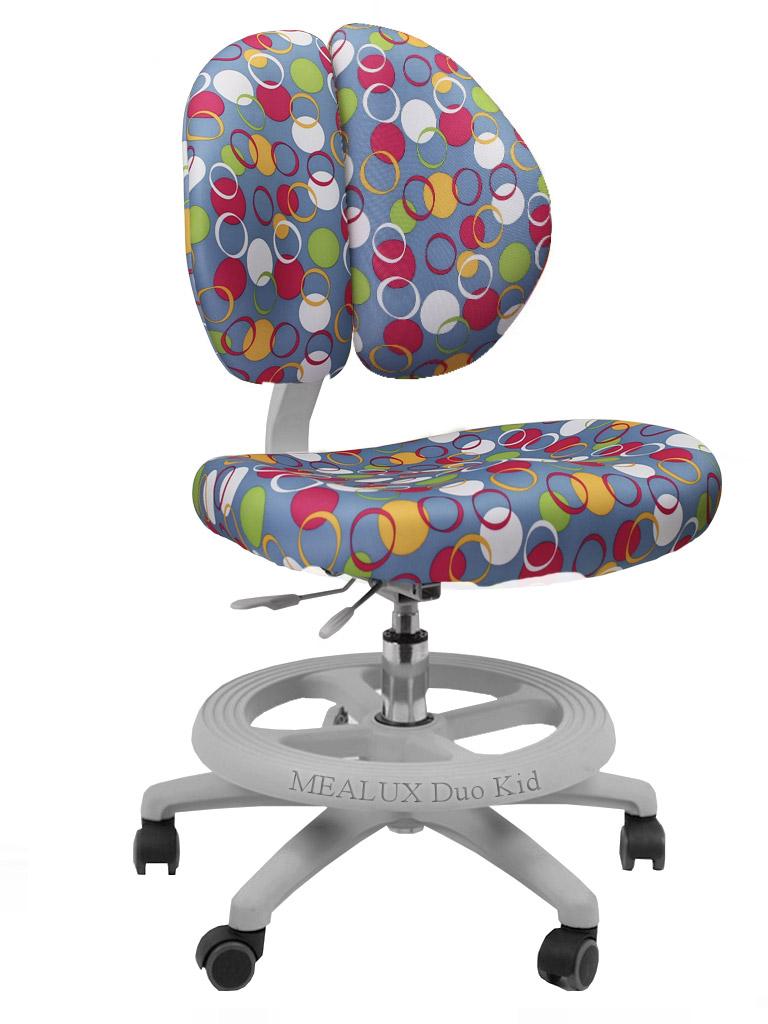 Компьютерное кресло Mealux Duo-Kid Mini 08337-7, серый/синий