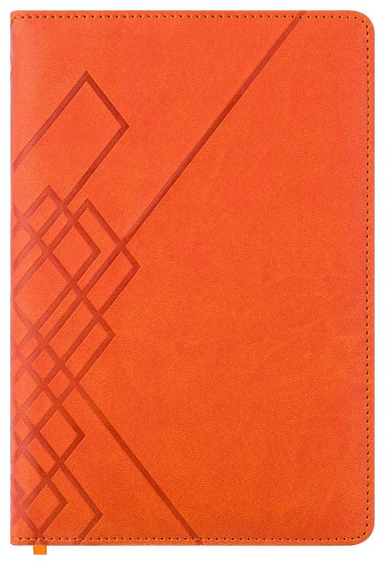 Ежедневник датированный на 2020 год Index Line, А5, 176 листов, линия, оранжевый