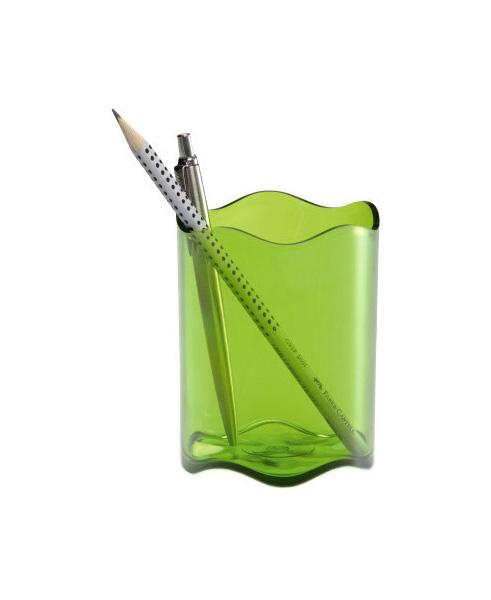 Стакан для пишущих принадлежностей DURABLE TREND 1701235017 Прозрачный светло-зеленый