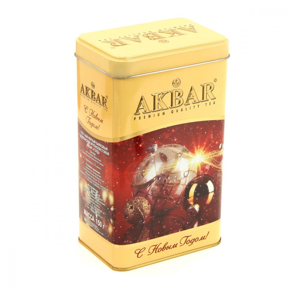 Чай Akbar С Новым годом! черный 150 г фото