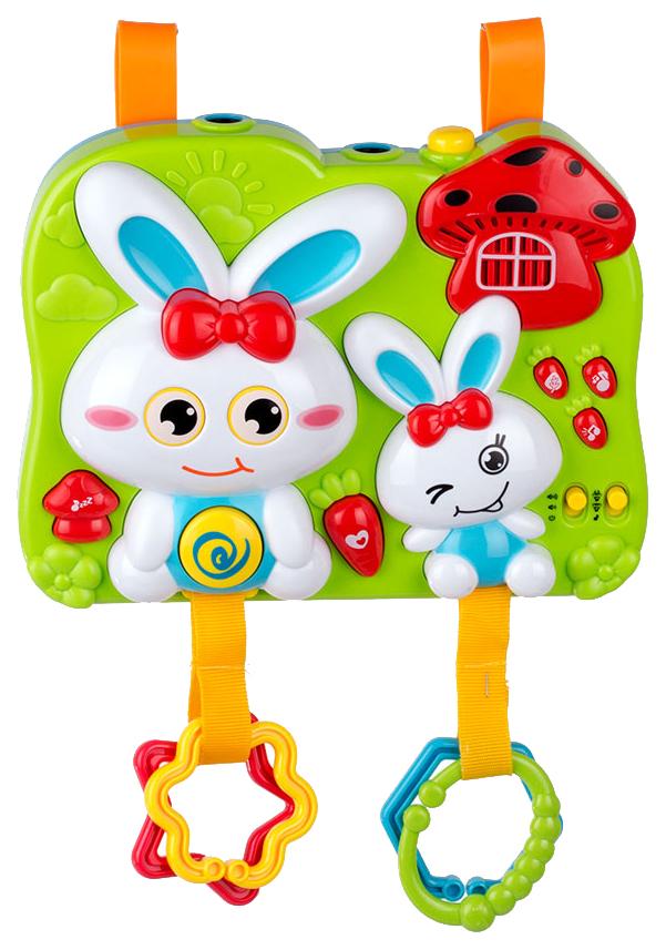 Купить Проектор 2 в 1 Кролик со звуковыми и световыми эффектами, Shenzhen Toys, Интерактивные животные