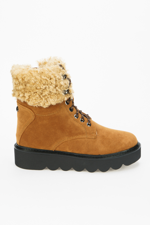 Ботинки женские Betsy 998068 коричневые 38 RU