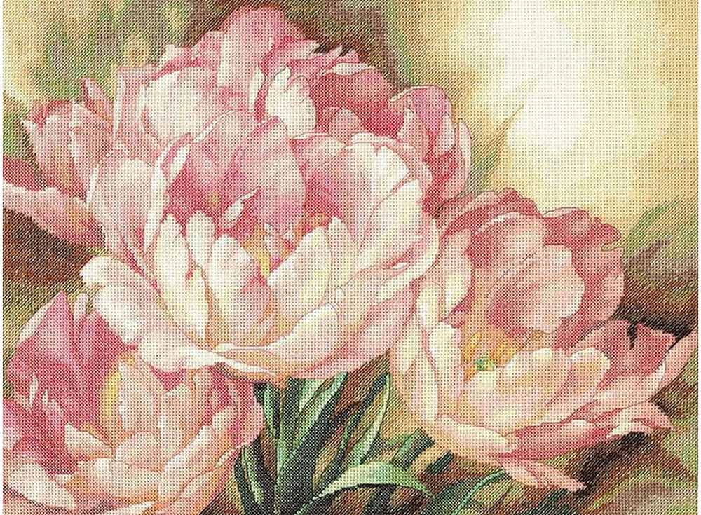 Набор для вышивания Dimensions Трио тюльпанов, арт.123648 фото