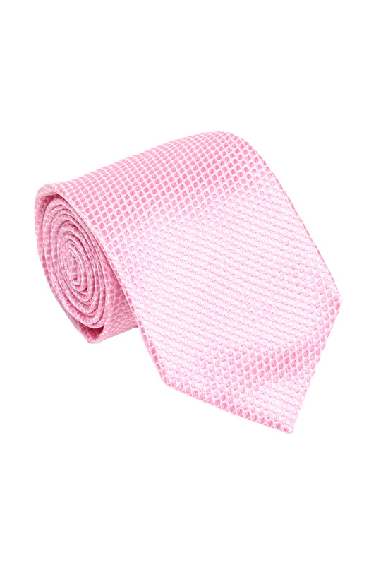 Галстук мужской Ascot 3012 розовый