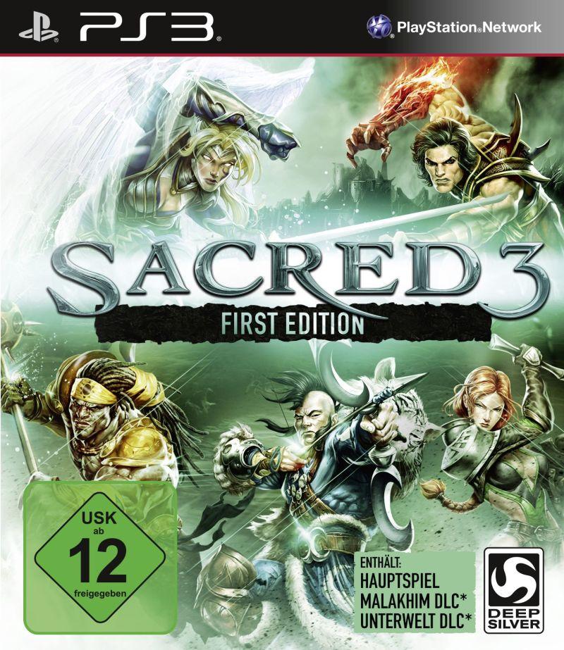 Игра Sacred 3 First Edition для PlayStation 3 Sony PS3