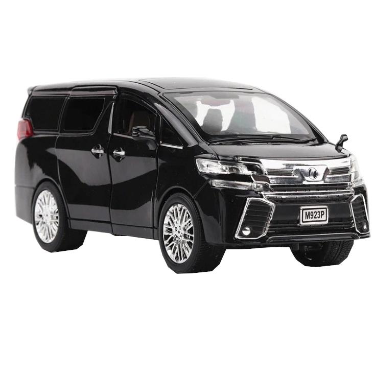 Купить Коллекционная модель машины минивэн TAY ALPH P инерционная 20см, цв. черный, Shantou Gepai, Игрушечные машинки