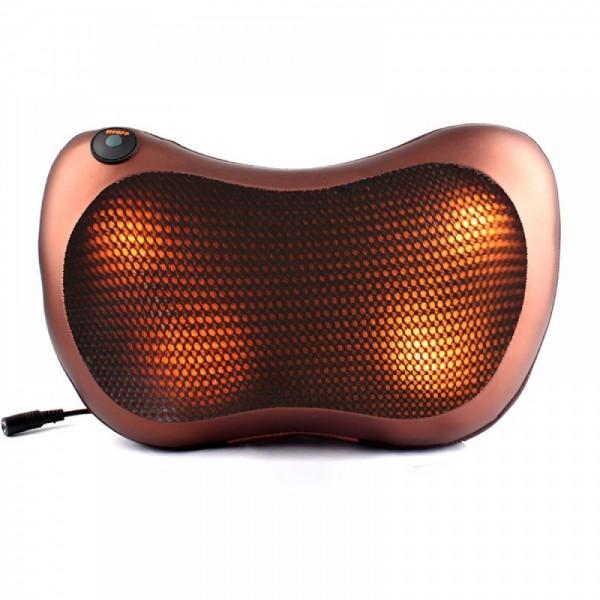 Автомобильная массажная подушка CHM 8028 (коричневый)