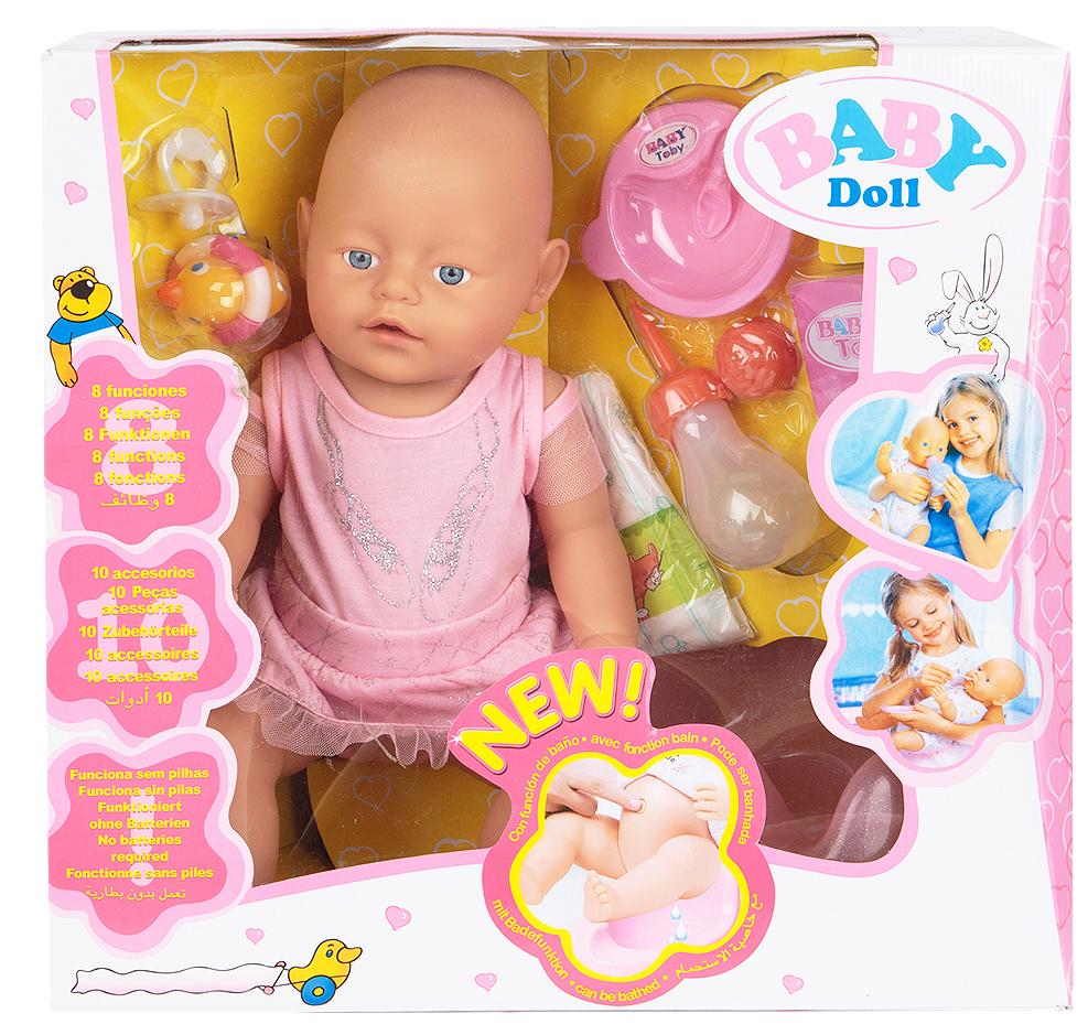 Игруша Кукла-Пупс в наборе с акс, (35 см)