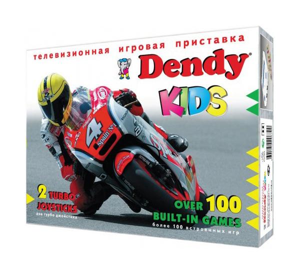Игровая приставка Dendy Kids Black