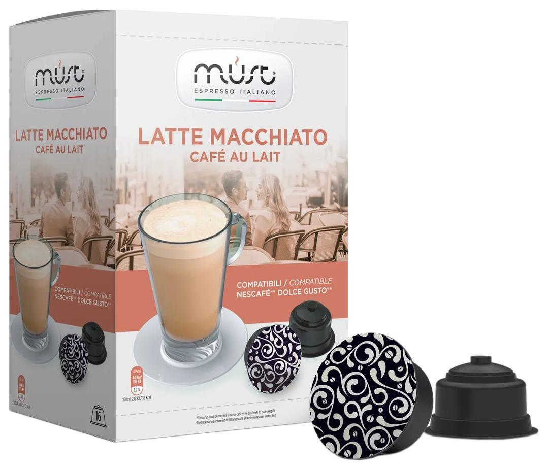 Кофе в капсулах Must latte macchiato 16 капсул