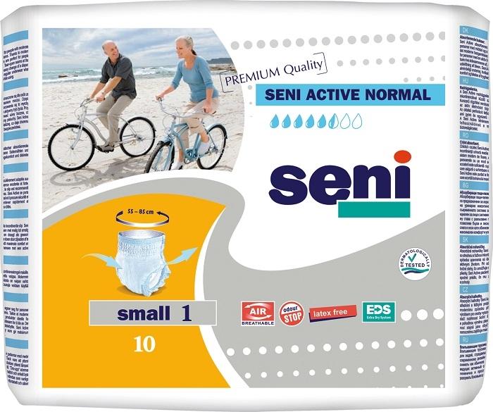 Купить SE-096-SM10-RU0, Подгузники для взрослых SENI Active Normal Small, 10 шт.