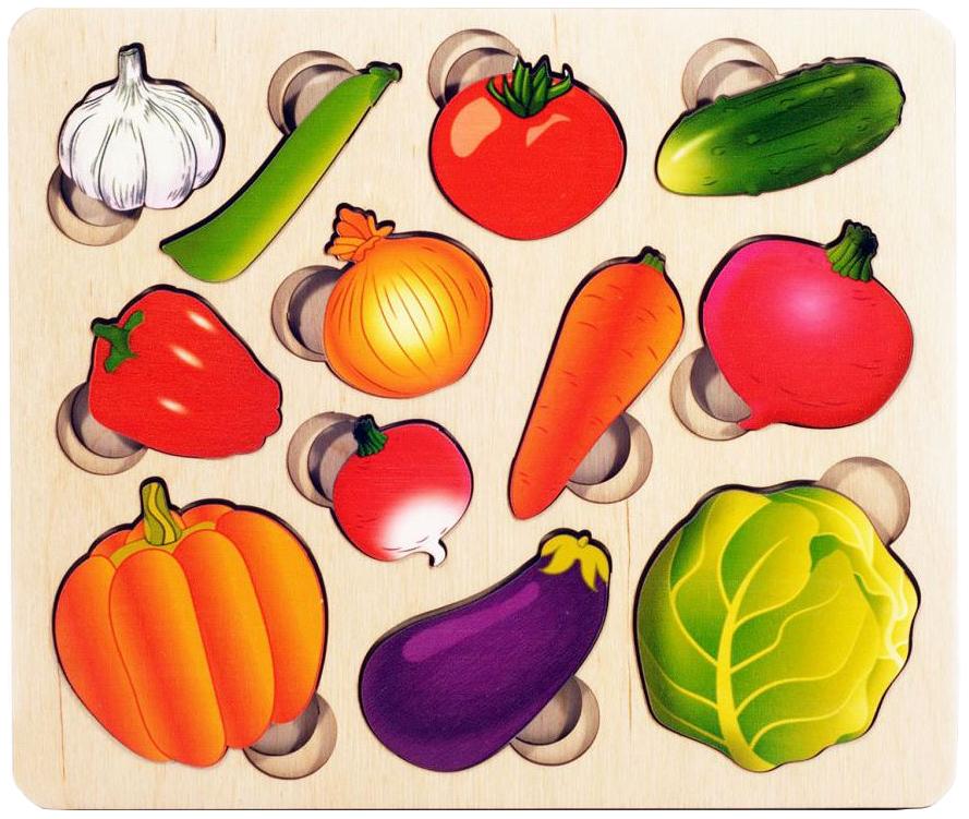 Развивающая доска Нескучные игры Овощи