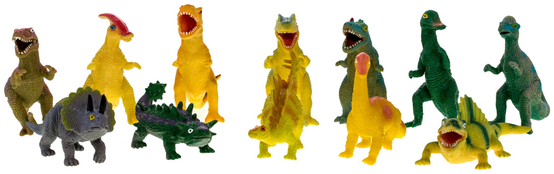 Купить Фигурка HGL Megasaurs SV12064 Динозавр резиновый в ассортименте, Игровые фигурки
