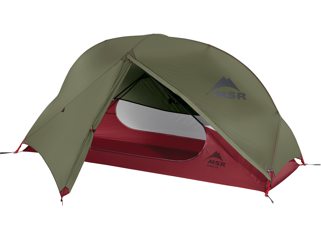 Палатка MSR Hubba NX зеленая одноместная