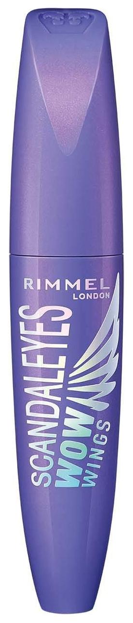 Купить Тушь для ресниц Rimmel Scandaleyes Wow Wings Mascara 001 Black 12 мл
