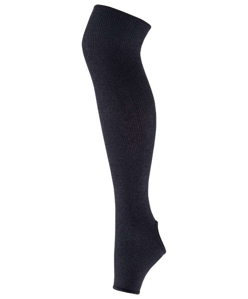 Гетры женские Amely GS 201, черные, 85 см