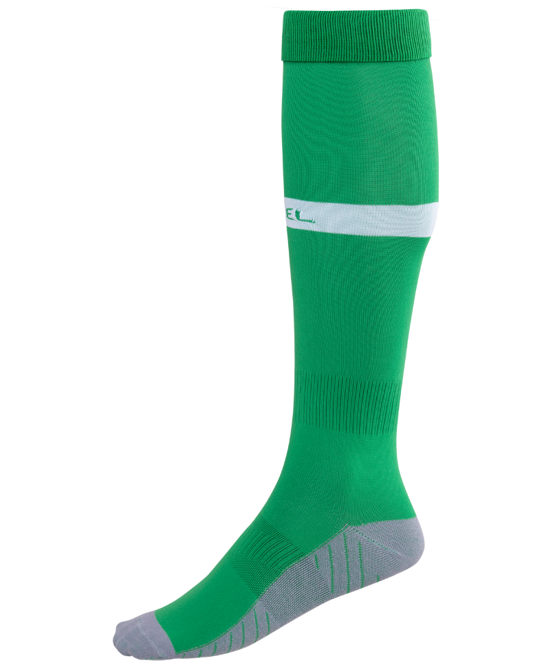 Гетры Jogel JA 003, зеленые/белые, 42