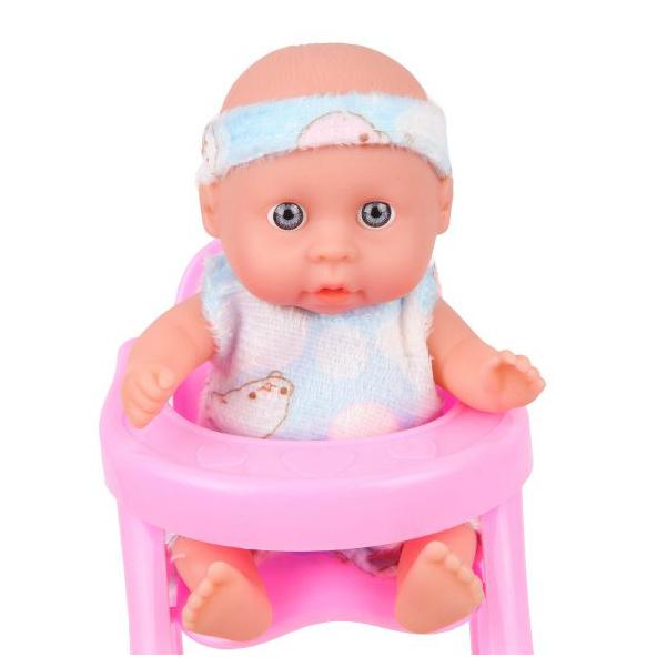 Купить НАША ИГРУШКА Пупс с аксессуарами, 15 см, 2 предмета QH6022-2, Наша игрушка, Пупсы